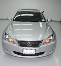 lexus is 250 2009 tungsten pearl sedan gasoline 6 cylinders rear wheel drive automatic 91731