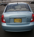 hyundai accent 2009 blue sedan gls gasoline 4 cylinders front wheel drive automatic 13502