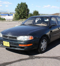 toyota camry 1993 dark green sedan le v6 gasoline v6 front wheel drive automatic with overdrive 80229