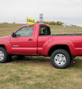 toyota tacoma 2006 red pickup truck rc sr5 4x gasoline 4 cylinders 4 wheel drive 5 speed manual 56001