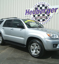 toyota 4runner 2007 silver suv sr5 gasoline 6 cylinders 4 wheel drive automatic 80905