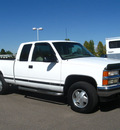 chevrolet c k 1500 series 1998 beight white k1500 silverado gasoline v8 4 wheel drive automatic 80504