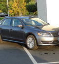 volkswagen passat 2012 platinum gray sedan s w appearance gasoline 5 cylinders front wheel drive automatic 98226