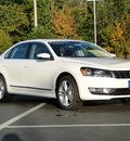 volkswagen passat 2012 white sedan tdi sel premium diesel 4 cylinders front wheel drive automatic 98226