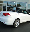 volkswagen eos 2012 white lux gasoline 4 cylinders front wheel drive automatic 98226