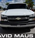 chevrolet silverado 1500 2006 white pickup truck gasoline 8 cylinders rear wheel drive automatic 32771