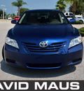 toyota camry 2007 blue sedan le gasoline 4 cylinders front wheel drive automatic 32771