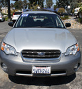 subaru outback 2006 silver wagon 2 5i special edition gasoline 4 cylinders all whee drive automatic 94063