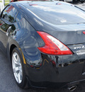 nissan 370z 2010 black coupe gasoline 6 cylinders rear wheel drive automatic 33021