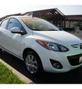 mazda mazda2 2011 white sedan touring gasoline 4 cylinders front wheel drive automatic 92653