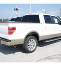 ford f 150 2011 white platinum meta king ranch gasoline 6 cylinders 2 wheel drive automatic 77388