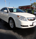 saturn aura 2008 white sedan xr gasoline 6 cylinders front wheel drive automatic 45036