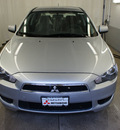 mitsubishi lancer 2011 silver sedan es gasoline 4 cylinders front wheel drive automatic 44060