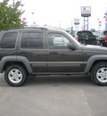jeep liberty 2005 green suv sport gasoline 6 cylinders 4 wheel drive automatic 13502