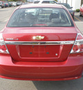 chevrolet aveo 2008 red sedan gasoline 4 cylinders front wheel drive automatic 13502