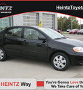 toyota corolla 2008 black sedan le gasoline 4 cylinders front wheel drive automatic with overdrive 56001