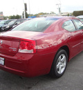 dodge charger 2010 dk  red sedan sxt gasoline 6 cylinders rear wheel drive automatic 60443