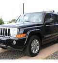 jeep commander 2007 black suv limited flex fuel 8 cylinders 4 wheel drive automatic 99352