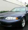 mazda 626 1999 blue sedan lx gasoline 4 cylinders front wheel drive 98012
