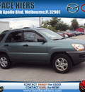kia sportage 2008 green suv lx gasoline 6 cylinders 4 wheel drive automatic 32901