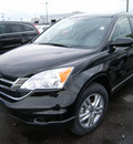 honda cr v 2011 black suv gasoline 4 cylinders all whee drive automatic 46219