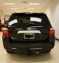 toyota highlander 2010 black suv limited gasoline 6 cylinders front wheel drive automatic 27707