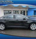 ford taurus 2011 black sedan sel gasoline 6 cylinders front wheel drive automatic 46219