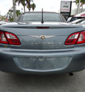 chrysler sebring 2008 blue touring flex fuel 6 cylinders front wheel drive automatic 33157