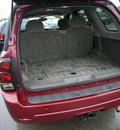 chevrolet trailblazer 2006 dk  red suv lt gasoline 6 cylinders 4 wheel drive automatic 46219