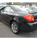 pontiac g6 2008 black sedan g6 gasoline 6 cylinders front wheel drive automatic 07507