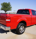 ford f 150 2004 red pickup truck xlt gasoline 8 cylinders rear wheel drive automatic with overdrive 76018