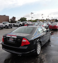 ford fusion 2012 black sedan sel gasoline 4 cylinders front wheel drive automatic with overdrive 60546