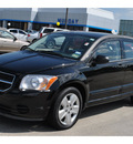 dodge caliber 2007 black hatchback sxt gasoline 4 cylinders front wheel drive automatic 77090