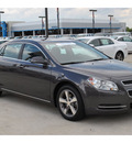 chevrolet malibu 2011 dk  gray sedan lt gasoline 4 cylinders front wheel drive automatic 77090