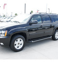 chevrolet suburban 2012 black suv lt flex fuel 8 cylinders 2 wheel drive automatic 77090