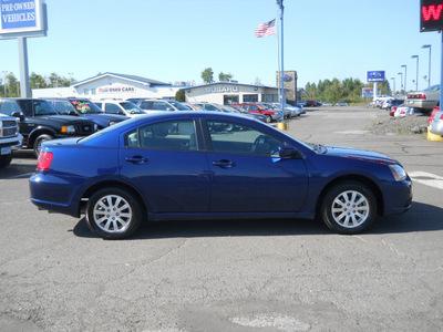 mitsubishi galant 2009 dk  blue sedan es gasoline 4 cylinders front wheel drive autostick 55811