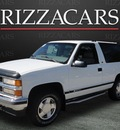 chevrolet tahoe 1997 white suv lt 4x4 gasoline v8 4 wheel drive automatic with overdrive 60546