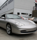 porsche 911 2002 silver gasoline 6 cylinders 6 speed manual 27215