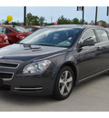 chevrolet malibu 2011 dk  gray sedan lt flex fuel 4 cylinders front wheel drive automatic 77090