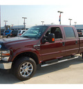 ford f 250 super duty 2010 red xlt diesel 8 cylinders 4 wheel drive automatic 77090