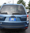 subaru forester 2009 newport blue suv 2 5 x limited gasoline 4 cylinders all whee drive automatic 07701