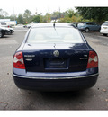 volkswagen passat 2002 blue sedan glx 4motion gasoline 6 cylinders all whee drive 5 speed automatic 07712