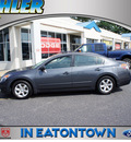 nissan altima 2007 dk  gray sedan 2 5 sl gasoline 4 cylinders front wheel drive automatic 07724