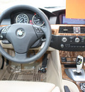 bmw 5 series 2010 lt  brown sedan 535i gasoline 6 cylinders rear wheel drive automatic 27616