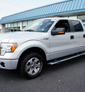 ford f 150 2011 gray xlt flex fuel 6 cylinders 2 wheel drive automatic with overdrive 08753