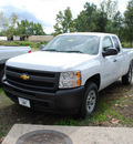 chevrolet silverado 1500 2011 white work truck flex fuel 8 cylinders 4 wheel drive automatic 27591
