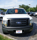ford f 150 2011 white xl flex fuel 8 cylinders 2 wheel drive automatic with overdrive 08753