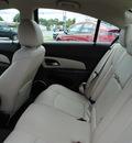 chevrolet cruze 2011 white sedan ltz gasoline 4 cylinders front wheel drive automatic 27591