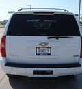 chevrolet tahoe 2007 white suv lt flex fuel 8 cylinders rear wheel drive automatic 76087