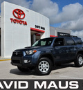 toyota 4runner 2011 blue suv trail edition gasoline 6 cylinders 4 wheel drive automatic 32771